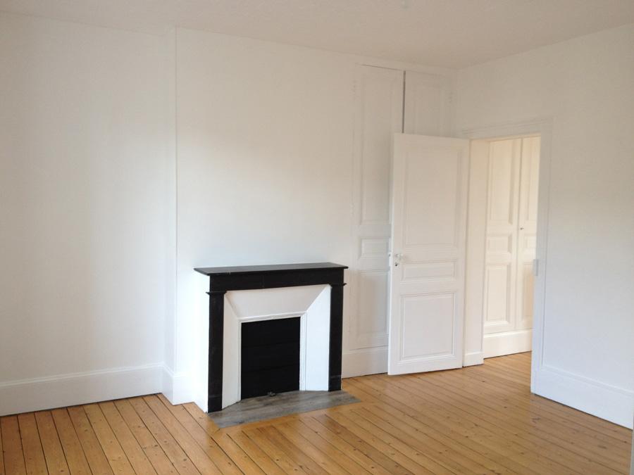 Art Déco System - Peintures et fenêtres d\'un appartement à Paris